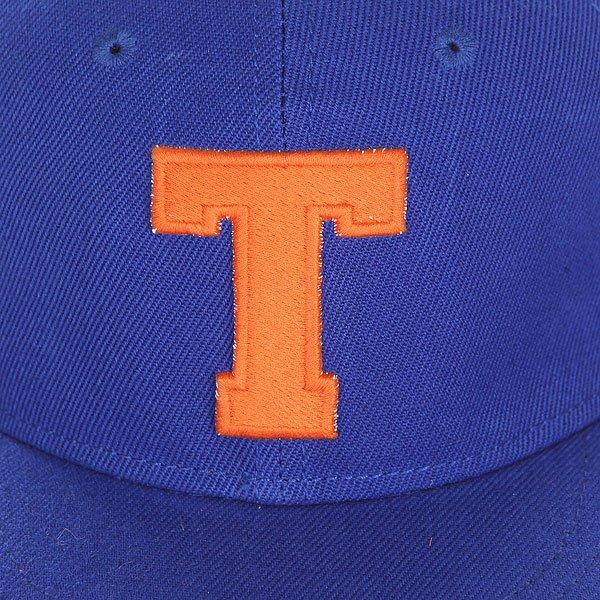 Бейсболка с прямым козырьком TrueSpin Abc Royal T