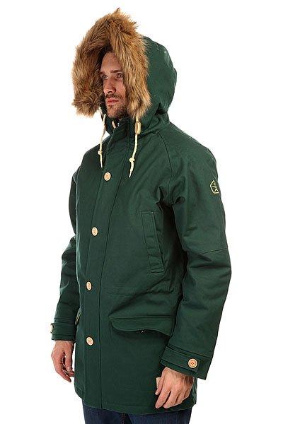 Куртка парка Запорожец Ditch Parka Dark Green