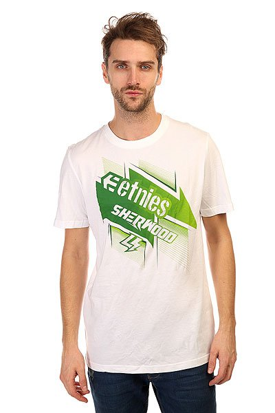 Футболка Etnies Checked Tee White