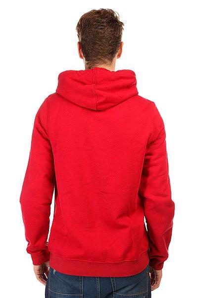 Толстовка классическая Etnies Corporate Zip Fleece Red