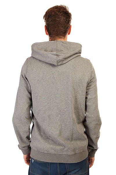 Толстовка классическая Etnies Rockfield Zip Fleece Grey/Heather