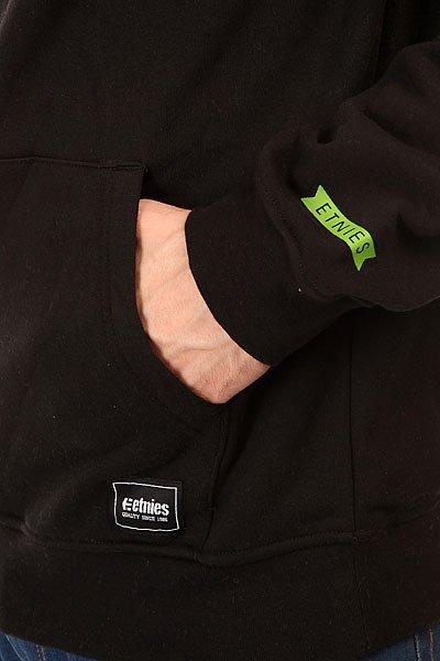 Толстовка кенгуру Etnies Yorkshire Fleece Black