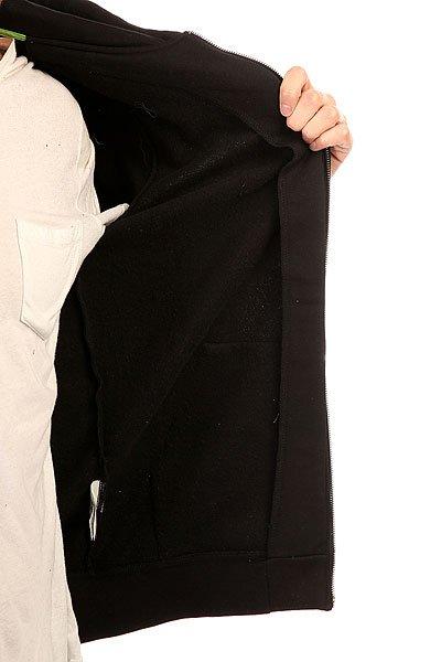 Толстовка классическая Etnies Icon Fill Zip Fleece Black