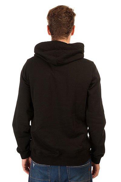 Толстовка кенгуру Etnies Frontside Fleece Black