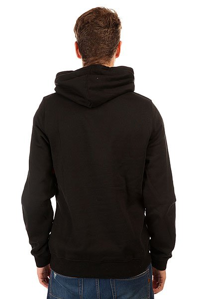 Толстовка кенгуру Etnies Icon Fill Fleece Black/Print