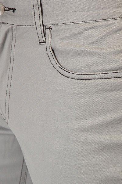 Штаны узкие Etnies Slim 5 Pant Light Grey