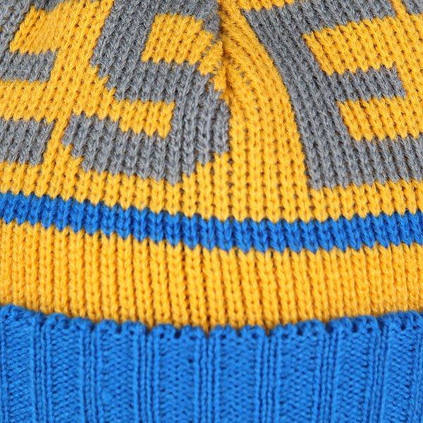 Шапка детская Etnies Steppen Beanie Blue/Yellow