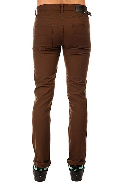 Штаны узкие Emerica Hsu Slim 5 Pocket Choco