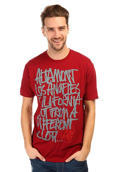 Футболка Altamont Approved Tee Oxblood