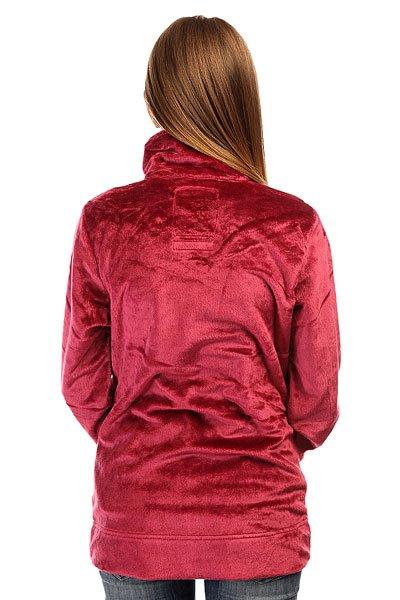 Толстовка утепленная женская Billabong Fleecy Sangria
