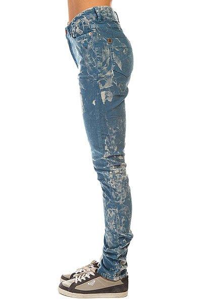 Штаны узкие женские Insight High N Mighty Blue Tie Dye