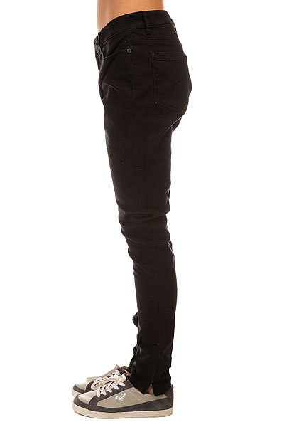 Джинсы узкие женские Insight Python Super Skinny Black Rinse