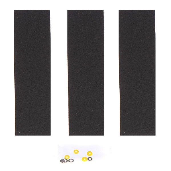 Набор шкурок для фингерборда Turbo-FB Turbo Tape Black/Yellow