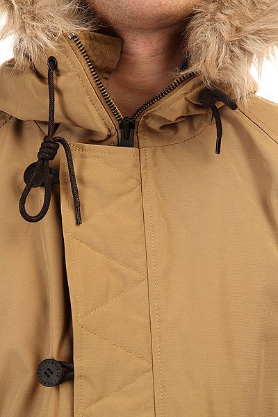 Куртка парка Penfield Paxton Long Insulated Snorkle Jacket Tan