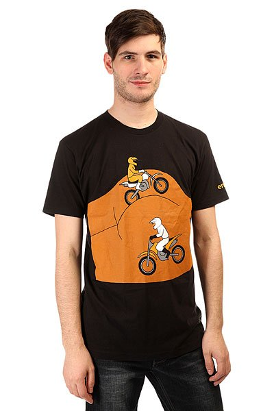 Футболка Enjoi Road Rash Premium Black
