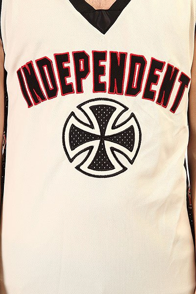 Майка Independent Scrimmage Jersey Tank Cream