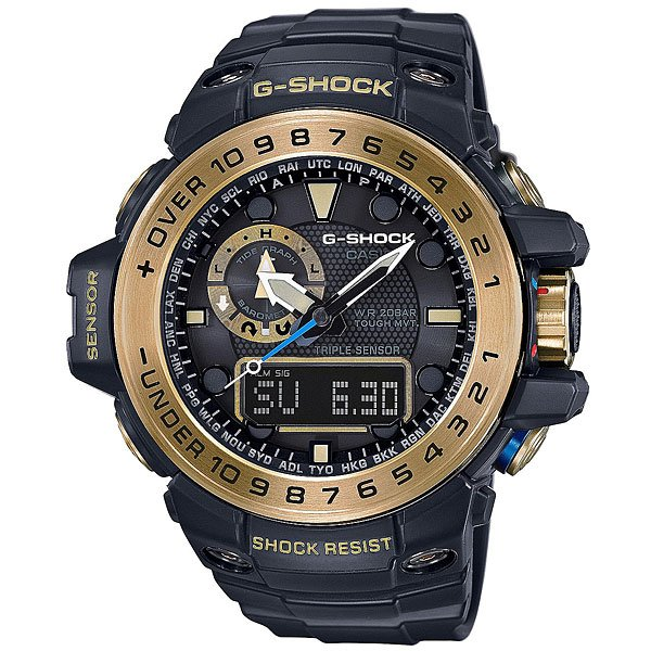 Часы Casio G-Shock Premium Gwn-1000gb-1A Bldck/Gold