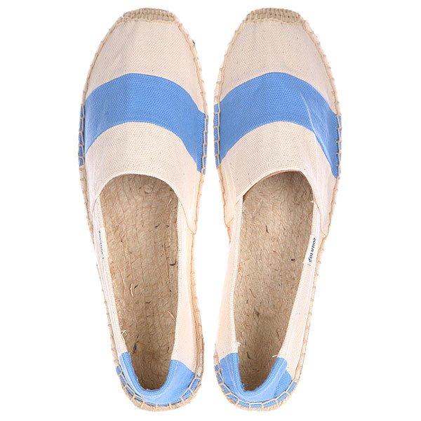 Эспадрильи женские Soludos Original Barca Sailor Stripe Blue