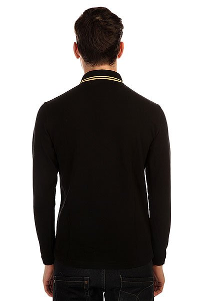 Поло Fred Perry Twin Tipped Fp Shirt Black