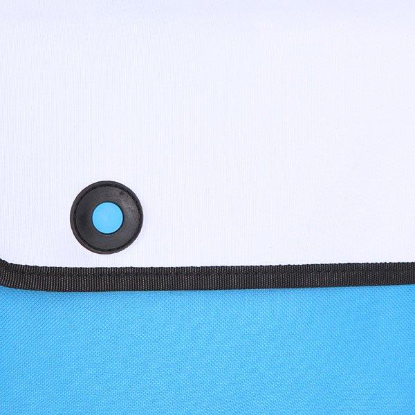 Сумка через плечо женская Jump from paper 2D Simple White/Blue/Black