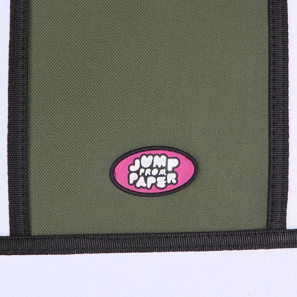 Сумка через плечо женская Jump from paper 2D Classics Green/Biege/Black