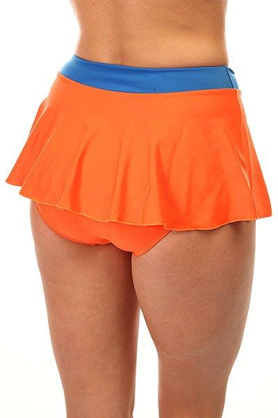 Купальник женский Look Haixiang Orange/Blue