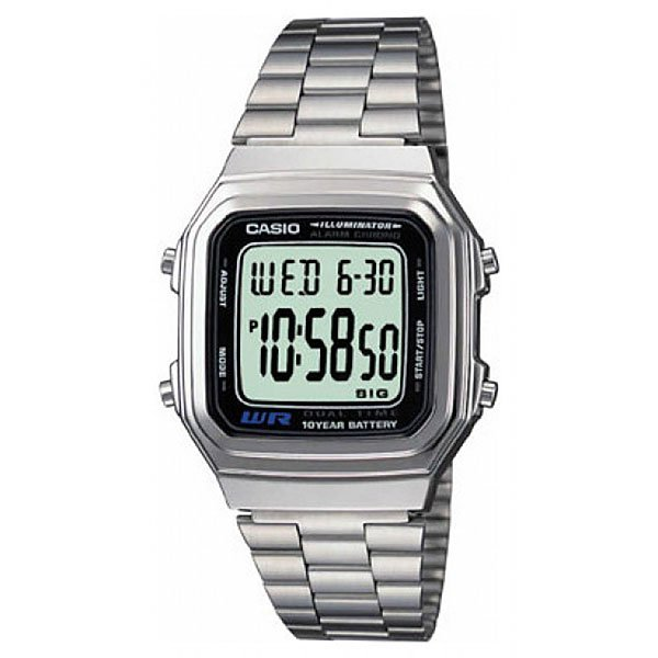 Часы Casio Collection 21398 A-178Wa-1 Grey