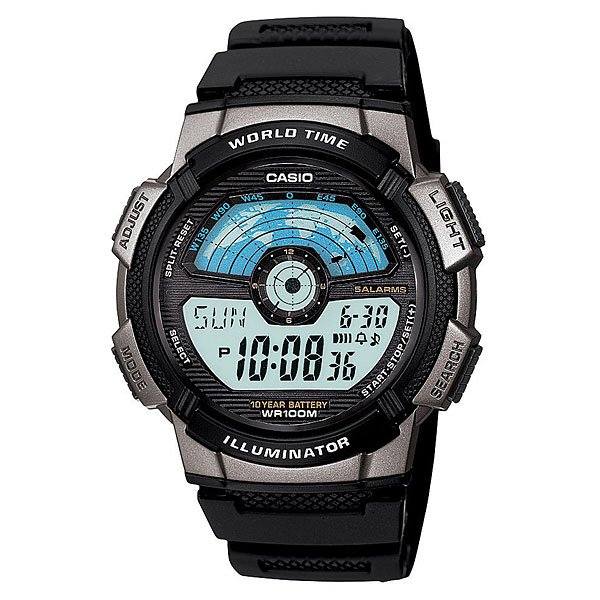 Часы Casio Collection 53281 Ae-1100W-1A Black