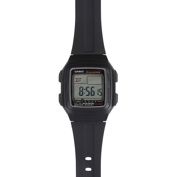 Часы Casio Collection 48768 F-201Wa-1A Black