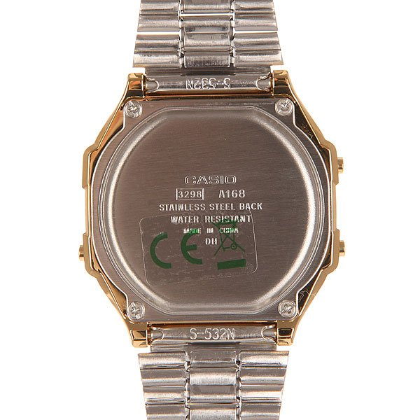 Часы Casio Collection 50481 A-168Wg-9B Gold