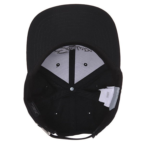 Бейсболка с прямым козырьком Etnies Tilney Ball Cap Black