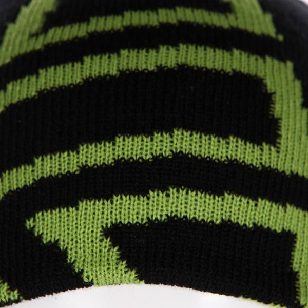 Шапка детская Etnies Icon Outline Beanie Black/Green