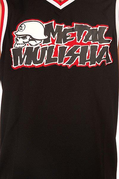 Майка Metal Mulisha Genuine Black/Red