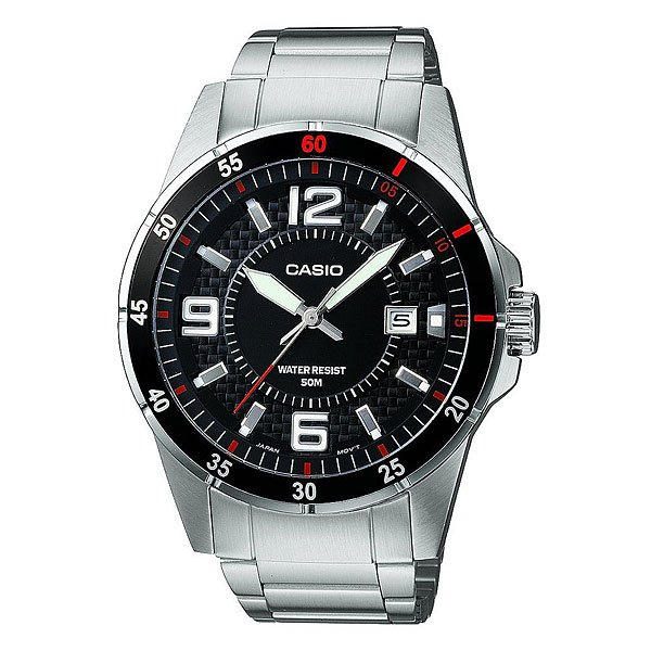 Часы Casio Collection Mtp-1291d-1a1 Solver/Black