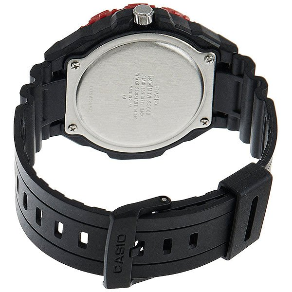Часы Casio Collection Mrw-s300h-4b Black/Red