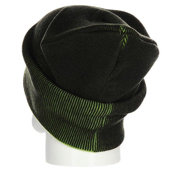 Шапка Hoppipolla Eiki Helgason Black/Green