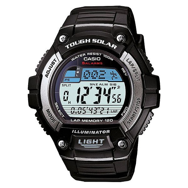 Часы Casio Collection W-s220-1a Black