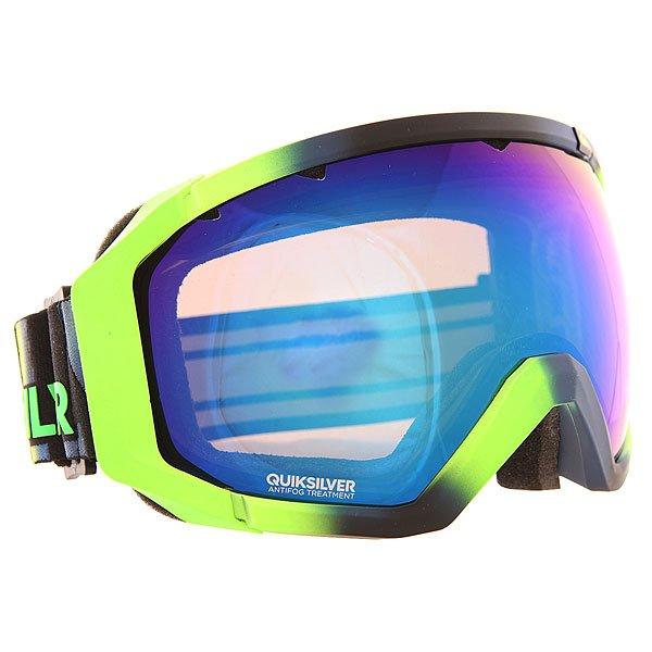 Маска для сноуборда Quiksilver Q2 Lime 1139252  - купить со скидкой
