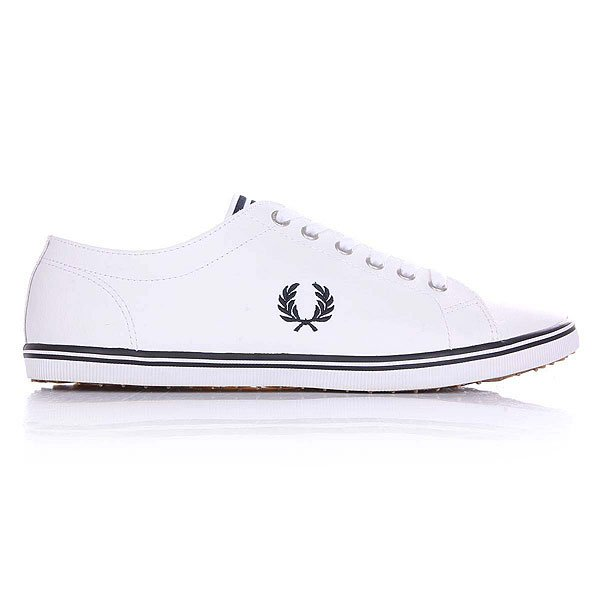 Кеды низкие Fred Perry Kingston Leather White/Black