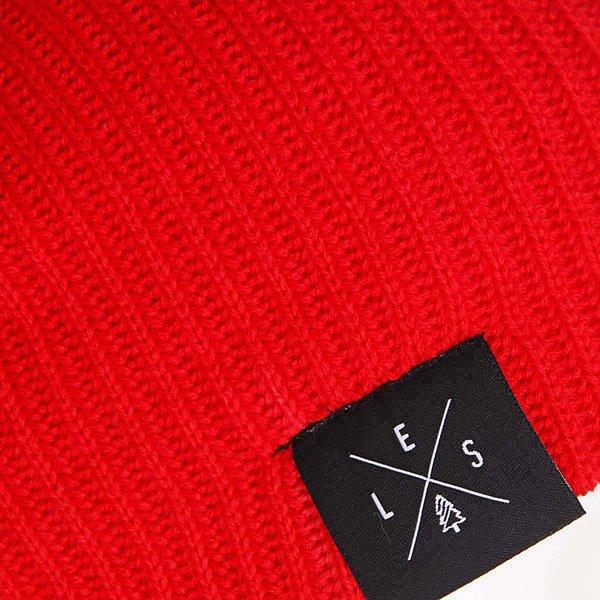 Шапка Les Dude Небо/Белый/Красный