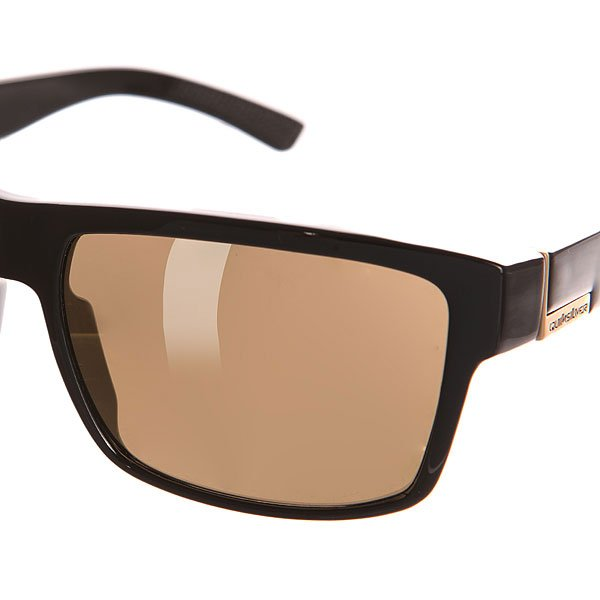 Очки Quiksilver Ridgemont Black/Flash Gold