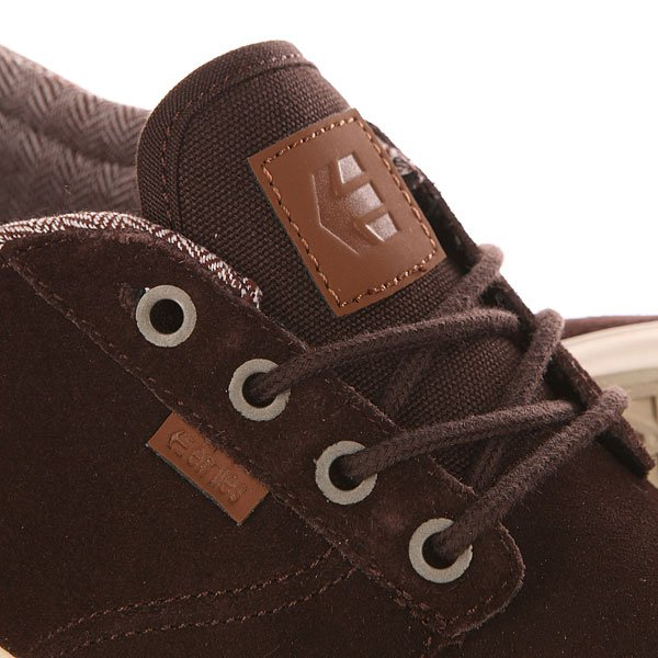 Кеды низкие Etnies Hitch Dark Brown