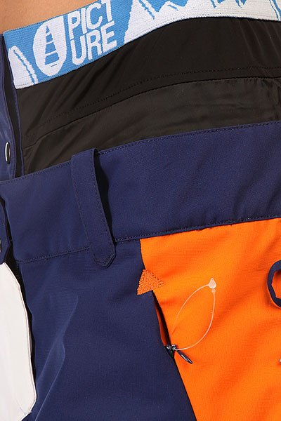 Штаны сноубордические женские Picture Organic Feeling 2 Dark Blue