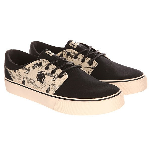 Кеды низкие DC Trase Sp Black/Cream