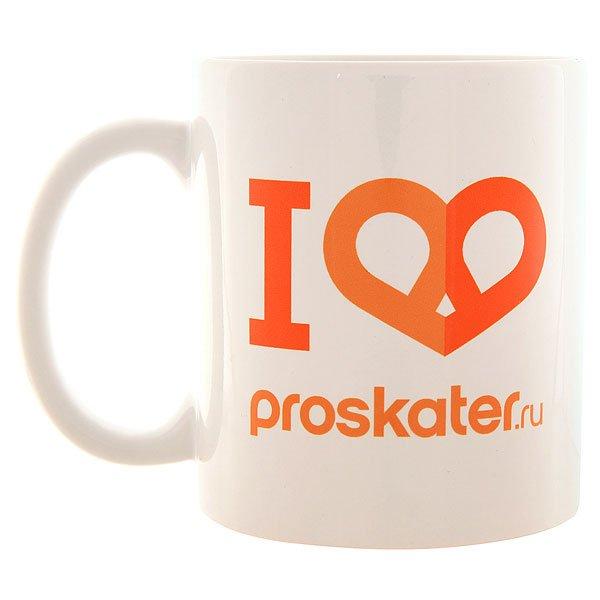 Подарок Proskater.ru Кружка White/Orange/Blue