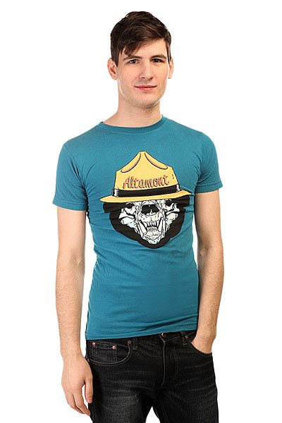 Футболка Altamont Bear Ranger Turquoise