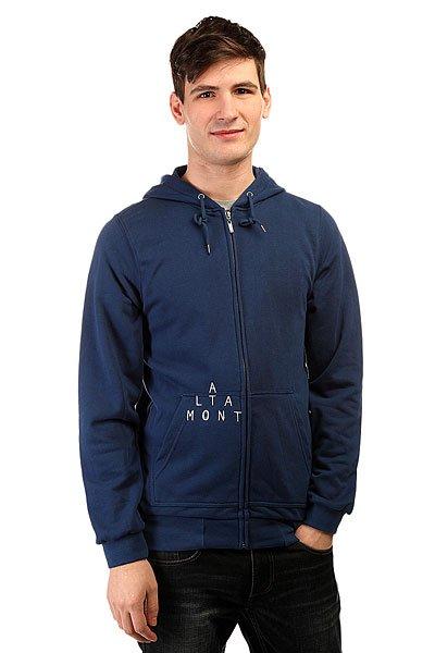Толстовка классическая Altamont Antisec Zip Fleece Royal