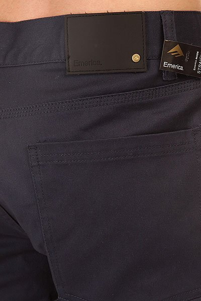 Штаны прямые Emerica Pure Straight Chino Navy