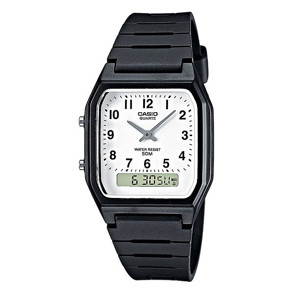 Кварцевые часы Casio Collection Aw-48h-7b Black