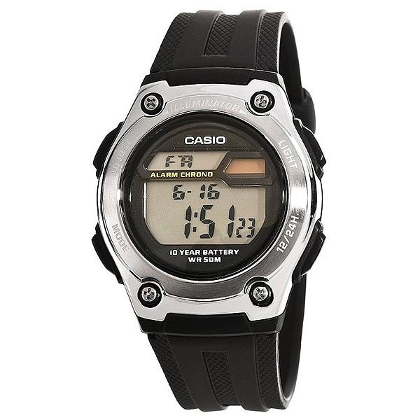 Электронные часы Casio Collection W-211-1a Black/Grey